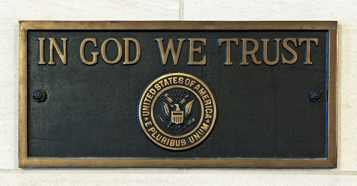 """""""IN GOD WE TRUST"""" EL ESTADO DE OKLAHOMA, EN EE.UU, PRONTO PODRÍA MOSTRAR EL LEMA DE LA NACIÓN"""